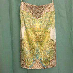Antonio Melani silk/Satin Pencil Skirt sz 2